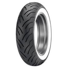 dunlop american elite 180 65b16 wide whitewall rear tire 693 319