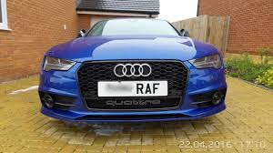audi rs7 front facelift s7 fitted with rs7 front grill audi sport