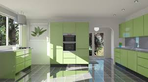 kitchen decorating kitchen colours and designs light green
