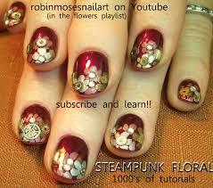 robin moses nail art steampunk nail art steam punk nail robin