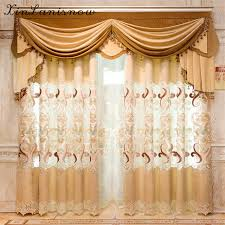 European Lace Curtains European Chenille Lace Curtains For Living Dining Room Bedroom J