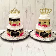 cake centerpiece prince and princess cake centerpiece set baby shower ce