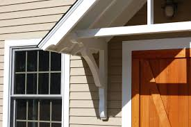 Awning Over Front Door Front Door Roof Cover Ideas Awning Project Cedar Flat Roof Front