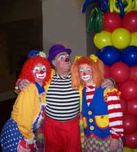 clowns for a birthday party birthday party entainers