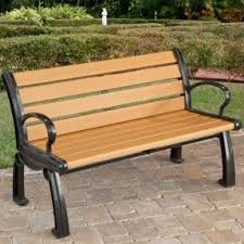 Bench Outdoor Furniture Plastic Benches Outdoor Foter