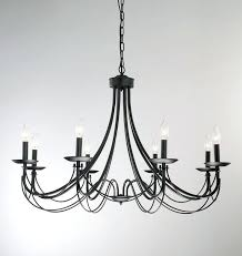 Vintage Wrought Iron Chandeliers White Wrought Iron Chandeliers Best Black Chandelier Ideas On