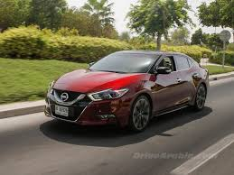 new nissan maxima first drive 2016 nissan maxima in the uae drive arabia