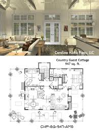 vacation home plans small small open floor plan sg 947 ams great for guest cottage or