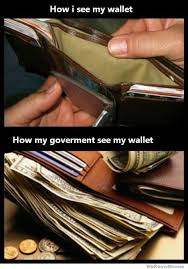 Meme Wallet - how i see my wallet how my government sees my wallet weknowmemes