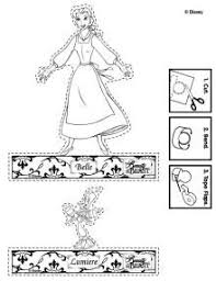 disney u0027s beauty beast printables coloring pages