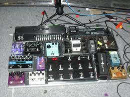 Homemade Pedal Board Design by J Mascis His Pedalboard Guitars And Basses Pinterest