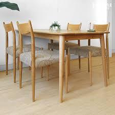 oak wood dining table joystyle interior rakuten global market width 140 cm oak wood oak