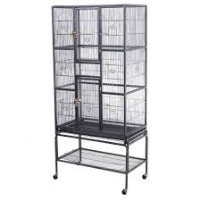 Large Ferret Cage New Bird Parrot Cage Chinchilla Cockatiel Conure Large W Stand
