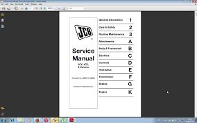 jcb manuais de serviço de reparo esquemas u0026 oficina todos os