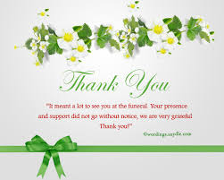 bereavement thank you cards thank you cards for support bereavement thank you notes mes