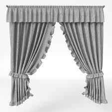 provence style 3d model curtain provence style cgtrader