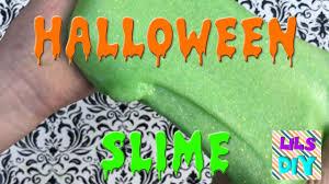 Lils Diy Halloween Slime Wicked Slime Booger Slime Googly Eye