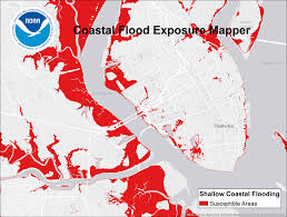 Charleston Sc Map From Texas To Maine Noaa U0027s Expanded Flood Information Tool