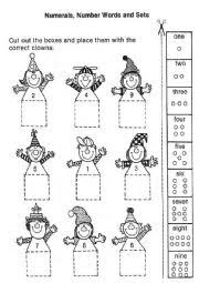 english worksheets the numbers worksheets page 35