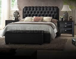 tufted bedroom furniture beds ireland platform with button tufted headboard black bedroom