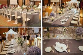 Wedding Table Set Up Shangri La Weddings Every Wedding Table Set Up Will Be Different