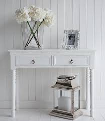 White Hallway Table Furniture Ideas Best Hallway Furniture Ideas On Neutral