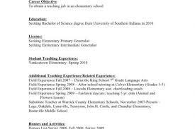 Substitute Teacher Resume Job Description 100 Elementary Teacher Resume Sle Teacher Resumes First
