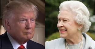 Queen Elizabeth Donald Trump Liz Says Nope U2014no Golden Carriage For You Queen Elizabeth Doesn U0027t