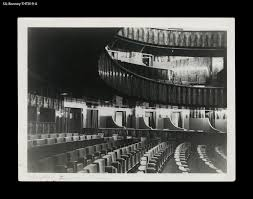 theater pigalle interior paris circa 1929 view from orchestra