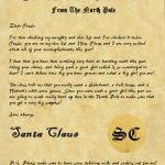 official letters from santa official letters from santa claus sle letter template