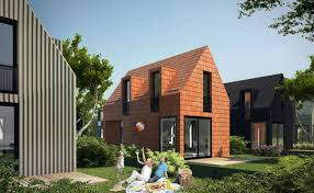 Affordable Houses To Build First Time Dutch Home Buyers Can Build Their Own Ibbn Flat Packed