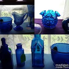 Where To Buy Glass Vases Cheap Diy Cobalt Painted Glass Video Tutorial Rosyscription