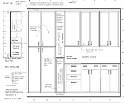 awesome idea kitchen elevation dimensions how to plan a diy