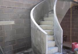 ej brennan form work concrete stairs spiral concrete stairs