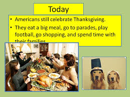 thanksgiving story ppt