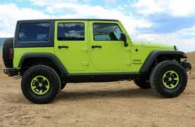 jeep green jeep gecko edition dave smith custom
