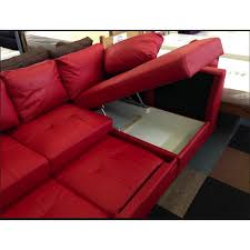 Red Chaise Lounge Sofa by Fernando Leather Right Hand Sofa Bed Corner Group Red Furnico
