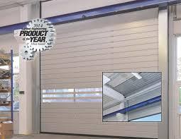 guardian glass doors hormann speed guardian 4000 h high lift door receives plant