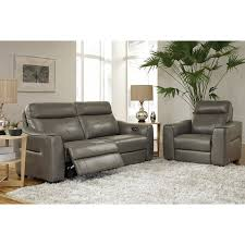 Leather Reclining Sofa Htl Real Leather Power Reclining Chair Superco Tv Appliance