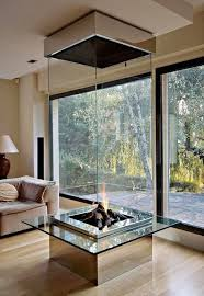 Contemporary Gas Fireplace Insert by Imposing Natural Gas Fireplace Insert Showcasing Vertical Glass