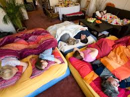 evict the kids from their beds for holiday guests parents debate