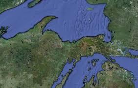 Upper Michigan Map by A Bird U0027s Eye View Of The Upper Peninsula
