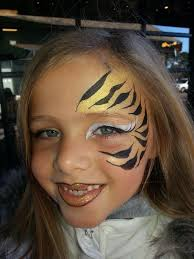 tiger face paint women google search makeup pinterest