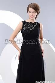 party dress modest lace black formal evening party dress 1st dress