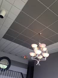 accented ceiling hand painted acoustical drop ceiling tile