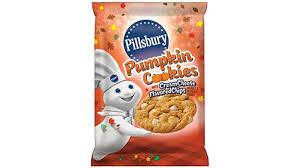pillsbury ready to bake pumpkin cookies with cheese