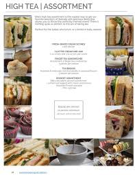 english high tea catering bite catering los angeles