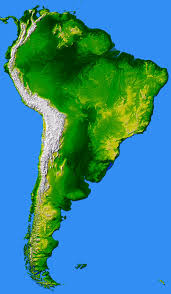 North America South America Map by South America Largest