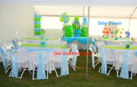 monsters inc baby shower decorations baby showers