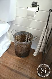 farmhouse powder room reveal powder room buckets and room